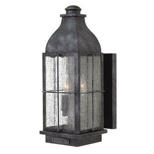 Bingham 2-Light Outdoor Wall Lantern by H..