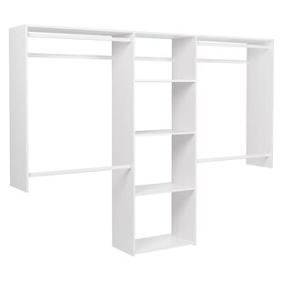 Top Reviews Deluxe 48 W - 96W  Closet System ByEasy Track
