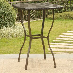 Find Stapleton Resin Wicker Bistro Table Purchase Online