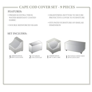 TK Classics Cape Cod Winter 9 Piece Cover..