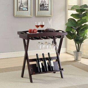 Gehlert Folding Tray Table by Red Barrel Studio