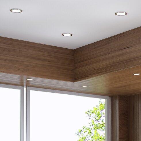Bazz 375 led recessed lighting kit wayfair 375 led recessed lighting kit aloadofball Images