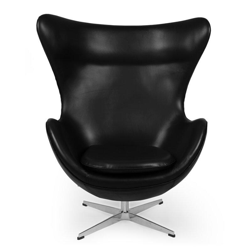 Deniela Swivel Balloon Chair Amp Reviews Allmodern
