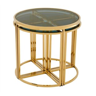 Vicenza 5 Piece Nesting Tables