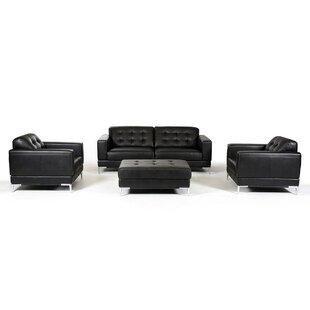 Orren Ellis Cana 4 Piece Living Room Set