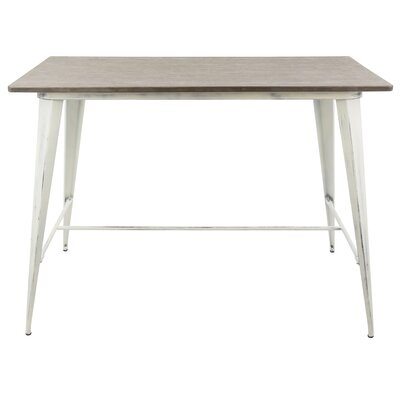 Modern Amp Contemporary White Lacquer Table Allmodern