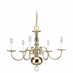 Darby Home Co Hendersonville Traditional 5-Light Chandelier