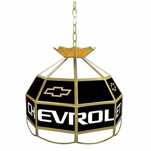 Trademark Global Chevy Stained Glass Lighting Fixture