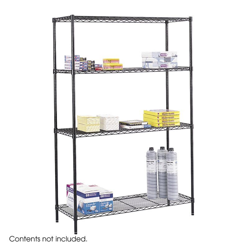 Safco Products Commercial Wire Shelving 48\
