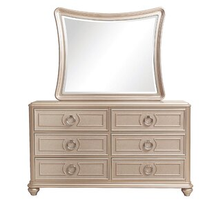 Willa Arlo Interiors Caozinha 6 Drawer Double Dresser Image