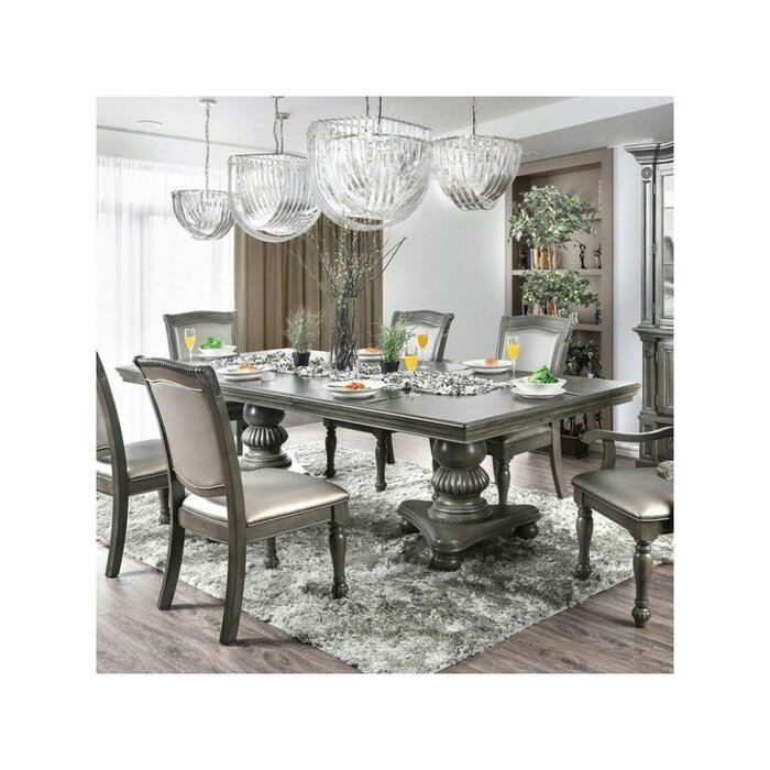 Montcalm Traditional Solid Wood Dining Table