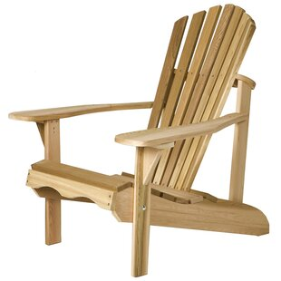 All Things Cedar Western Red Cedar Adult Solid Wood Adirondack Chair