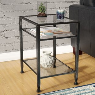 Black Glass End Tables Youu0027ll Love | Wayfair