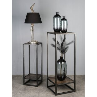 Review Glynis Etagere Plant Stand (Set Of 2)