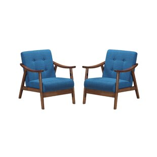 Read Reviews Cartert Armchair (Set of 2) By Corrigan Studio