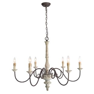 Leib Elegance French Country 6-Light Candle Style Chandelier