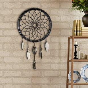 Art Decor Dreamcatcher Wheel Feathers Wall Décor