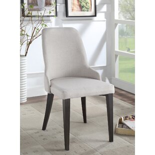 Lampert Upholstered Dining Chair (Set of 2) Ophelia & Co.