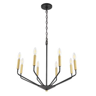 Vennie 8-Light Candle Style Chandelier by Wrought Studio