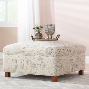 Sartain Storage Ottoman by Lar..