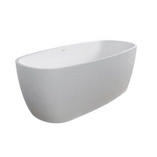 Lunar 71 X 31 5 Freestanding Soaking Bathtub