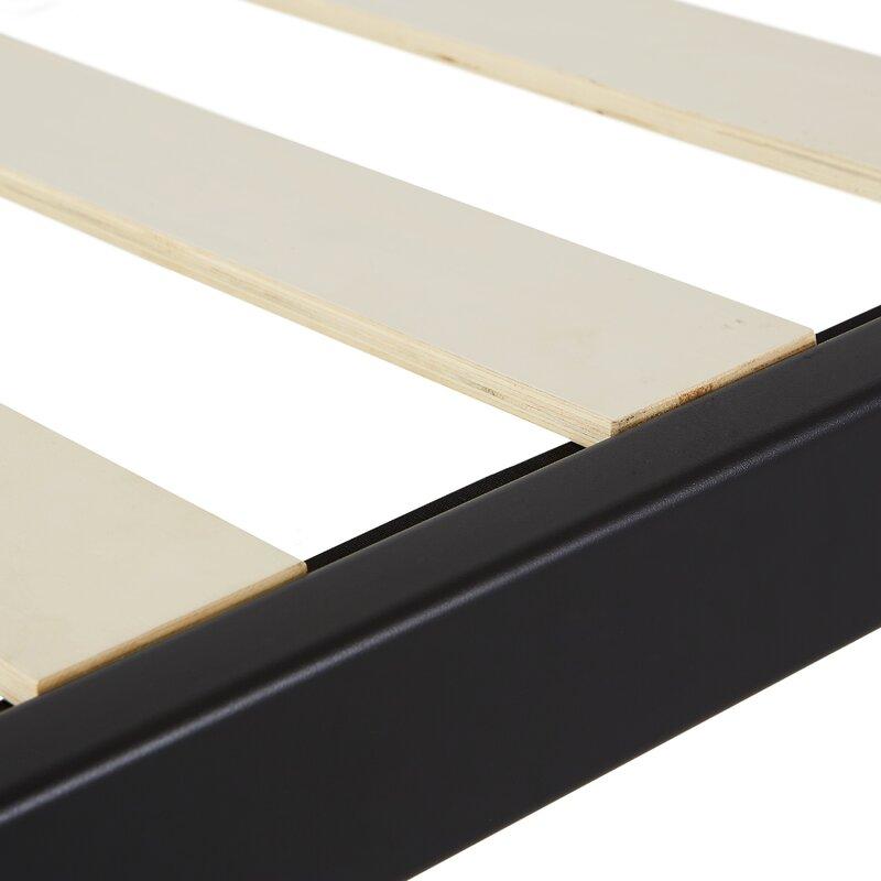 Alwyn Home Wood Slat Bed Frame   Wayfair