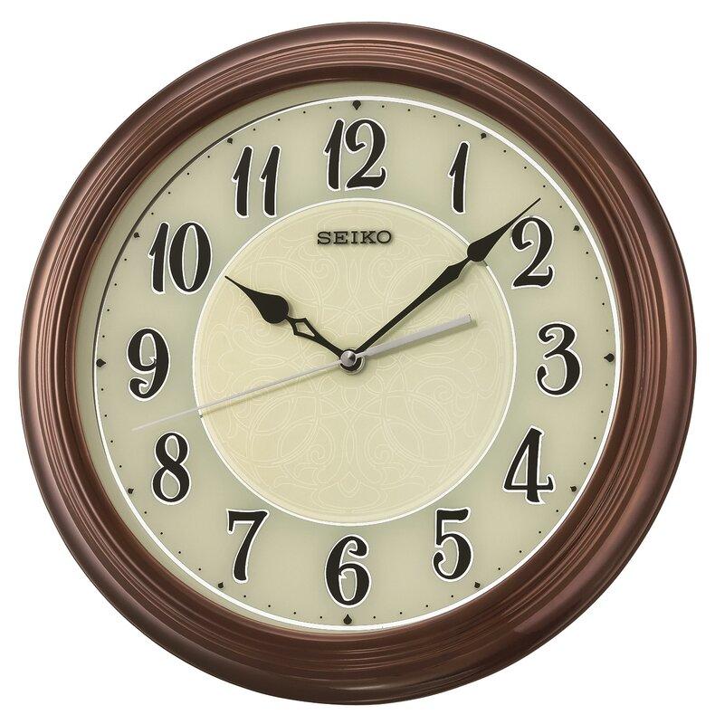 Seiko Wall Clocks Youll Love Wayfair