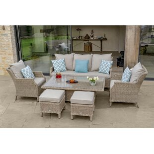Rysing 7 Seater Rattan Sofa Set Image