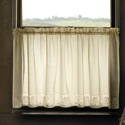 Country Willow Tier Curtain