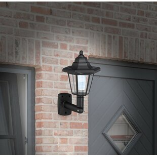 Livia LED Outdoor Wall Lantern (Set Of 2) By Marlow Home Co.