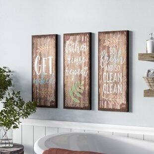 Bath Laundry Wall Art