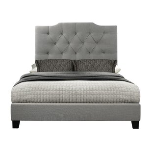 Bulpitt Queen Upholstered Panel Bed by Charlton Home