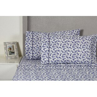 Block Paisley 400 Thread Count Cotton Sheet Set