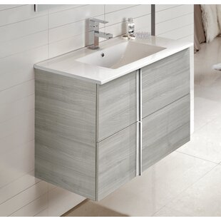 Miguel 32 Wall-Mounted Single Bathroom Vanity