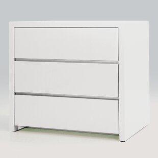 Blanche 3 Drawer Half Dresser (Set of 2) by Mobital