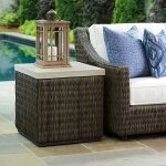 Cypress Point Ocean Terrace Square End Table