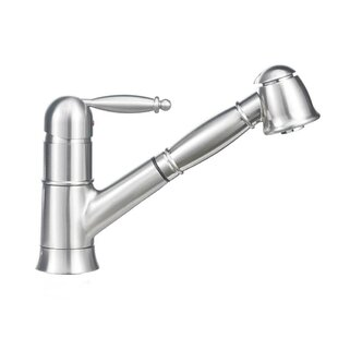 Blanco Grace Single Handle Deck Mounted Standard Kitchen Faucet with Dual Pull Out Spray