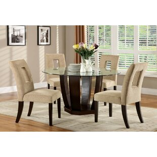 Almond 5 Piece Dining Set by Bloomsbury Market Comparison