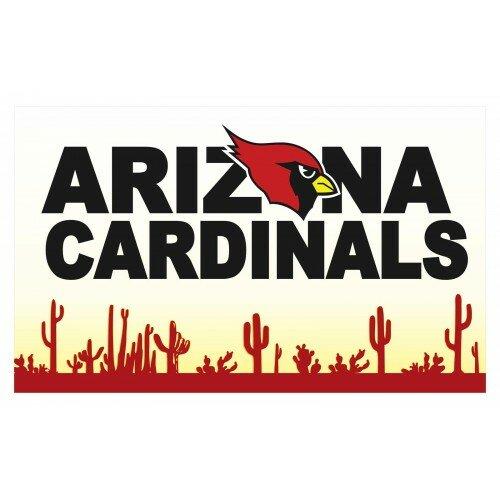 Neoplex Arizona Cardinals Polyester 36 X 60 In House Flag Wayfair