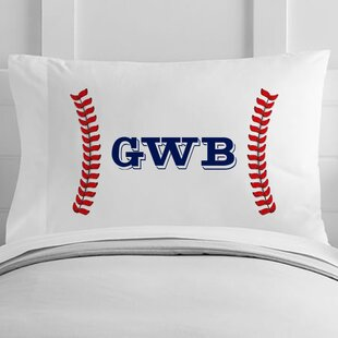 personalized baseball seams toddler pillow case - Toddler Pillow Case