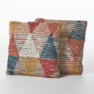 Chupp Wool Throw Pillow (Set of 2)