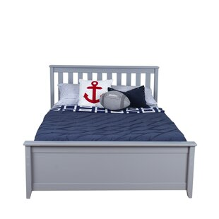 Solid Wood Full Platform Bed with Trundle Frame