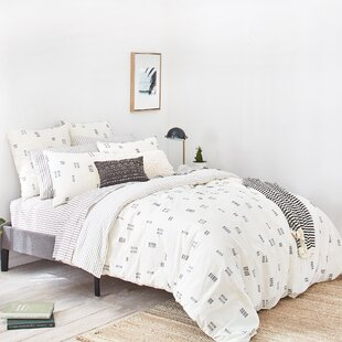 Crosshatch Jacquard Duvet Cover Set