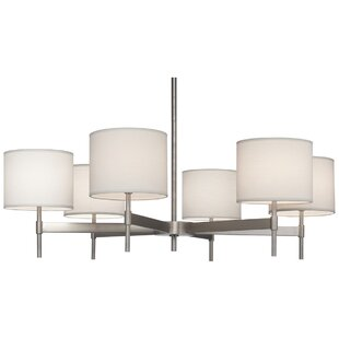 Robert Abbey Echo 6-Light Shaded Chandelier