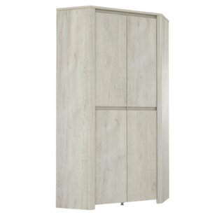 Review Hopper 2 Door Corner Wardrobe