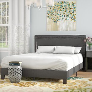 Andover Mills Kaniel Double Row Upholstered Platform Bed