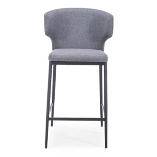 Vieira Bar Stool (Set of 2) Brayden Studio