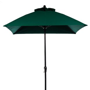 6.5' Square Market Umbrella