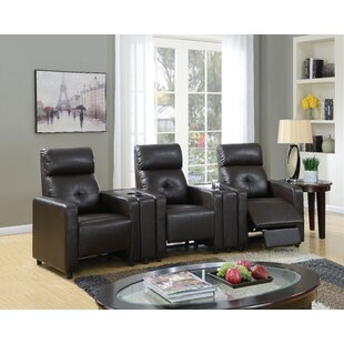 Salyers Home Theater Reclining Sectional by Ebern Designs