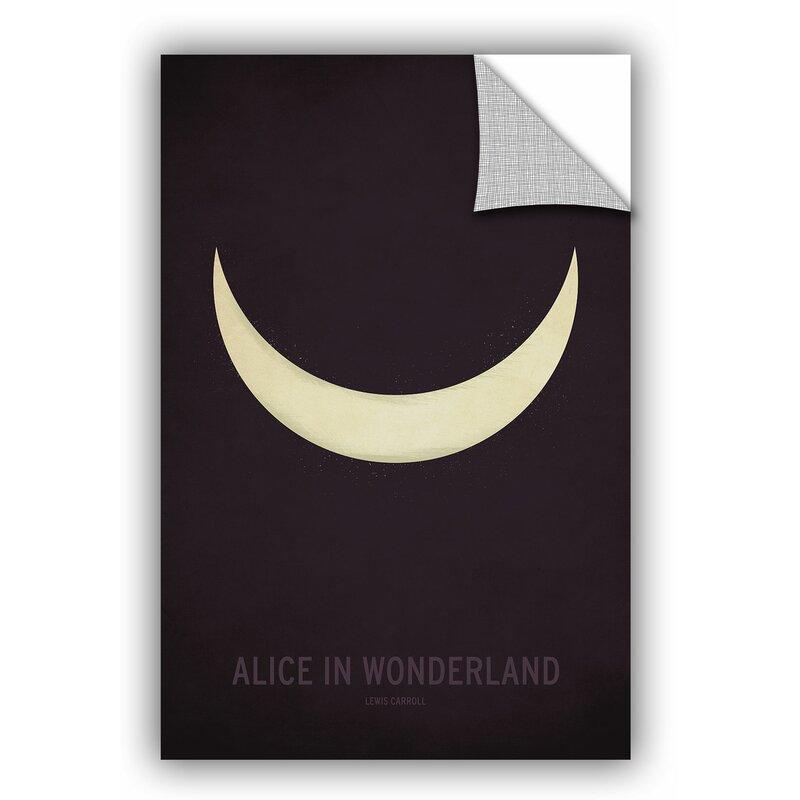 ArtWall Alice in Wonderland Wall Mural Wayfair
